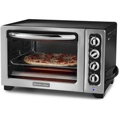 Kitchen Aid Countertop 12 Toaster Oven Onyx Black