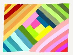Summer Stripes Made WithPaperbymlmassieux