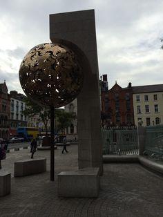 Art on the streets of Dublin