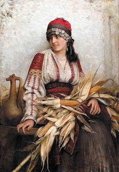 Franciszek Ejsmond - Romanian Maiden, 1885