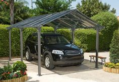 free standing Carports | guide to choosing a carport - free standing or lean to? | Stormclad ...
