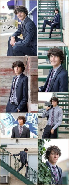 Graduation Pictures for Guys - Wear a Suit! By Dallas Senior Photographer Lisa McNiel