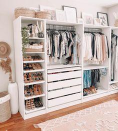 Custom Closet Design, Bedroom Closet Design, Room Ideas Bedroom, Closet Designs, Bedroom Decor, Closet Renovation, Closet Remodel, No Closet Solutions, Wardrobe Room