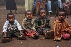 Kids of Dorze Village, Ethiopia