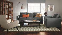 Metro Guest Select Sleeper Sofas  - Room & Board.com In Desmond Grey