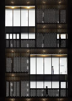 Image 2 of 21 from gallery of Won & Won / Doojin Hwang Architects. Photograph by Kim Yongkwan Detail Architecture, Brick Architecture, Interior Architecture, Architecture Names, Commercial Architecture, Ancient Architecture, Sustainable Architecture, Landscape Architecture, Metal Facade