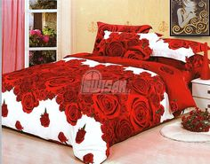 Pościel z niesamowitym efektem 3 D w której zaśniesz z prawdziwą przyjemnością.  Idealna pościel na prezent ślubny.   Dostępna na stronie: kasandra.com.pl   #pościel3D #miłość #sex  #róże