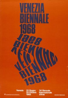 Mario Cresci, 34a Biennale Internazionale d'Arte, Venezia, June 22 – October 20, 1968, Museum für Gestaltung, Zürich