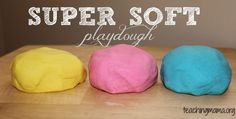 Super Soft Playdough