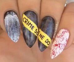 26 easy halloween nail art ideas for teens pinterest easy 26 easy halloween nail art ideas for teens pinterest easy halloween nails easy halloween and teen solutioingenieria Image collections