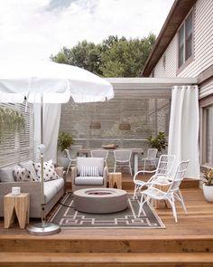 Some Great Suggestions for Springtime Patio Furniture – Outdoor Patio Decor Outdoor Patio Designs, Outdoor Seating, Outdoor Rooms, Outdoor Decor, Patio Ideas, Outdoor Patios, Outdoor Living Spaces, Backyard Ideas, Garden Ideas
