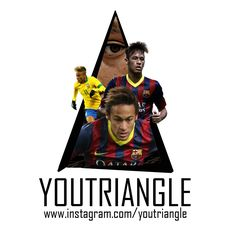 Youtriangle ∆ #Neymar  Neymar da Silva Santos Júnior (Portuguese, born 5 February 1992), commonly known as Neymar or Neymar Jr., is a Brazilian professional footballer who plays as a forward for Spanish club FC Barcelona and the Brazil national team.  Neymar came into prominence at an early age at Santos, where he made his professional debut aged 17. He helped the club win two successive Campeonato Paulista championships, a Copa do Brasil, and the 2011 Copa Libertadores, Santos' first…