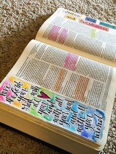 Bible Journaling Supplies {Pitter Patter Art}