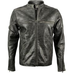 Sleeve at Shoulder - Viparo - Distressed Grey Sprinter Jacket