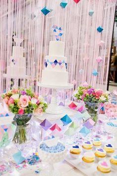 ♢2015トレンド♢「ジオメトリック」をテーマにした結婚式がおしゃれ! | 結婚式準備ブログ | オリジナルウェディングをプロデュース Brideal ブライディール