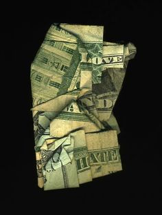 Hidden Messages on Dollar Bills by Dan Tague > Love And Hate