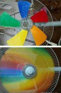 ventilador con color