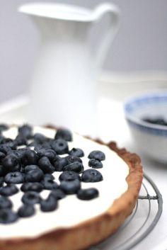 Blaubeeren-Zitrone-Mascarpone-Tarte