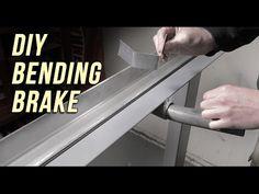 How to make a Sheet Metal Bending Brake - YouTube
