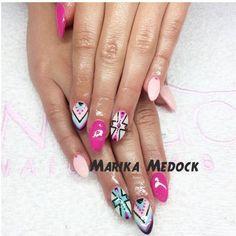 Visit www.oceansofbeauty.com for EZ Dip Gel Powder. It is so easy to DIY EZdip! No lamps needed, lasts 2-3 weeks! #aztec #aztecnails #aztecart #nails #manicure #ezdip #gelnails #nailart Aztec Nail Art, Aztec Nails, Sensational Nails, Gel Nails, Manicure, Indigo Nails, 3 Weeks, Gel Polish, Dip