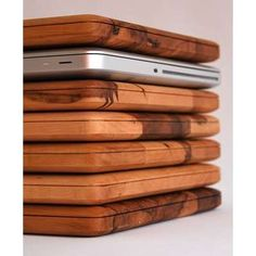 MacBook Pro w/wooden cover. Might donate a kidney...