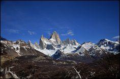 Panorámica - camino al Cerro FitzRoy El Chaltén