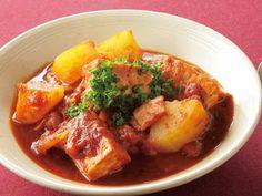 [厚揚げのみそトマトシチュー] 料理レシピ|みんなのきょうの料理