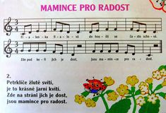 Mamince pro radost Kids Songs, Sheet Music, Kindergarten, Preschool, Teaching, Activities, Education, Carnavals, Songs For Children