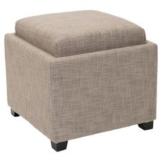 Found it at Wayfair - Carter Cube Ottoman in Gray