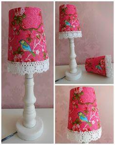 Lampenkapjes in opdracht gemaakt - Sakkjes en zo