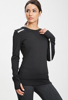 Reflective Workout Pullover - Activewear - Tops - 2000080763 - Forever 21 UK