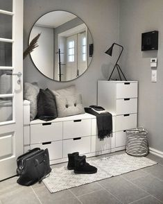 15 Nordic-Style Bedroom Ideas To Inspire you Home Decor Bliss Minimalist Bedroom Bedroom Bliss Decor Home Ideas Inspire nordicstyle Decor Room, Living Room Decor, Diy Home Decor, Dining Room, Decorations For Home, Makeup Room Decor, Cheap Room Decor, Makeup Rooms, Home Office Decor