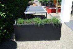 Polyester plantenbak