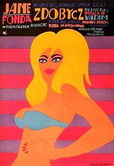 Designer: Andrzej Krajewski. Year: 1969. Title: Zdobycz. Film: France.