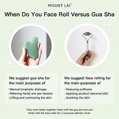 Shop Mount Lai's Gua Sha Facial Lifting Tool at Sephora. A facial massage tool that promotes the lifting and smoothing of the skin. Sephora, Skin Tips, Skin Care Tips, Beauty Care, Diy Beauty, Homemade Beauty, Homemade Facials, Beauty Hacks, Beauty Ideas