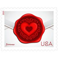 Sealed with Love-  Stamp, USPS.com