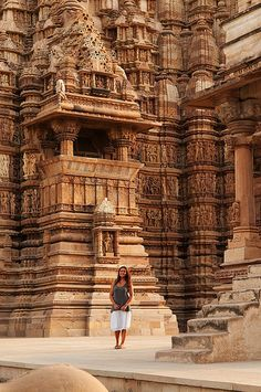 India Travel – Khajuraho Erotic Temples