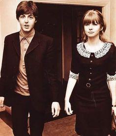 Paul McCartney & Jane Asher ✌   Cheers
