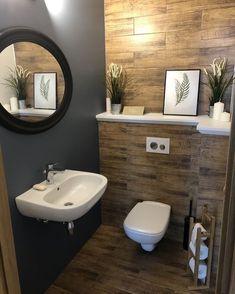 Splendid Small Toilet Design Ideas For Small Space In Your Home 44 Bathroom Light Bar, Bathroom Sink Design, Home Depot Bathroom, Bathroom Wall Shelves, Bathroom Paint Colors, Bathroom Wall Decor, Bathroom Interior, Bathroom Storage, Bathroom Stand