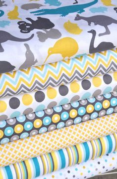 Down Under fabric collection by Mint Blossom for Northcott - 100% cotton @ Hawthorne Threads