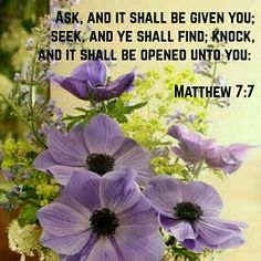 Matthew 7:7 KJV Biblical Quotes, Prayer Quotes, Religious Quotes, Bible Verses Quotes, Bible Scriptures, Shadow Of The Almighty, King James Bible Verses, Angel Prayers, Inspirational Verses