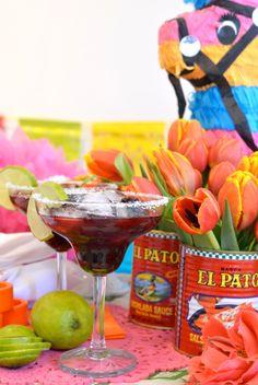 Blackberry Margarita :: Cinco de Mayo!