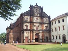 The Basilica of Bom Jesus (Portuguese: Basílica do Bom Jesus) is located in Goa, India, and is a UNESCO World Heritage Site. The basilica holds the mortal remains of St. Francis Xavier. The church is located in Old Goa, which was the capital of Goa in the early days of Portuguese rule. The Jesuit church is India's first minor basilica, and is considered to be one of the best examples of baroque architecture in India.
