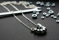 Hardwarestore - hexnut pendant