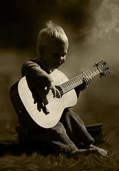.playing my guitar