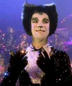 """And we all say """"Oh Wow A Never Was There Ever! A Cat So Clever As Magical Mr. Mistoffelees."""" LOVE Cats!"""