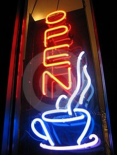 Come in for a cup of fresh coffee.