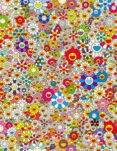 Takashi Murakami - Flowers - Amazing!