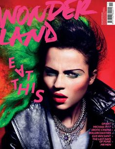 wonderland magazine covers - Buscar con Google