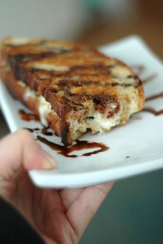 grilled cheese sandwiches: creamy mozzarella, nutty parmigiano-reggiano & pecorino romano cheeses, thinly shaved smoked ham. slather on the butter topped with avocados,